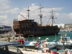 Pirate ship at Ayia Napa