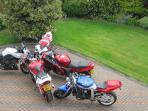 Knockavallen Lodge is a popular retreat for bikers during NW 200 in May.