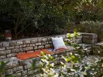 There are plenty of lounging areas in the garden to enjoy the view, read a book or just relax