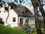 Rowan Cottage set in lovely gardens