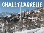Location of Chalet L'Aurelie in the sunny snowsure south facing Village of Villard Reculas.