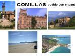 Comillas tiene además de una magnifica playa, edificios recuerdo de épocas pasadas