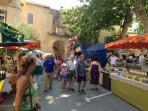 Visit in July for the fête de l'olivier in Bize-Minervois