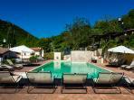 Resort Borgo Santa Lucia piscina acqua salata riscaldata