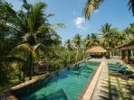 Luxury infinity edge pool