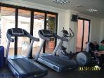 Gym on resort