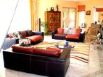 step-down living room