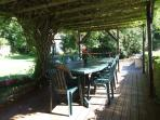 The pergola and barbeque to relax and enjoy good food, wine and company.