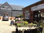 close proximity to The Barn Cafe and our own farm shop stocking a wide range of produce