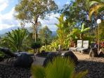 Discrete sunbathing Terrace
