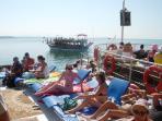 On the boat - 5 island cruise