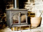 Log burners - lit before your arrival (in cold weather) so you arrive to a lovely warm house