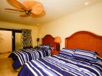 3rd suite with 2 comfortable Queen size beds