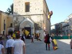 Carnival time in Medieval Guardiagrele