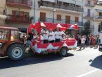 Carnival time in Castel Frentano