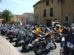 Harley Davidson gathering in September - a must for all bikers!