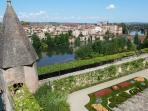 Garden of Berbie Palace, Albi