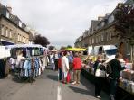 Sourdeval village market