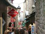 On Le Mount St Michel