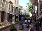 Istanbul's antique shop district