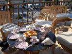 Our Famous Scones on the Terrace