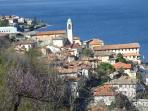 View of lezzeno village