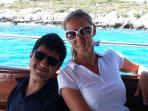 Captain Ergun & First Mate Merve. Your own skipper and host to pamper and spoil you ...