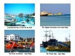 Exciting boat trips - glass bottomed boat, Pirate ship, Nemo/ dolphin submarine.  Hire boat locally.