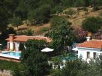 Fig Tree VIlla on the left, Banana Valley Villa on the right