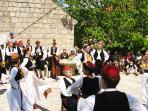 Öilipi folkor, just 4 km away, great way to explore the Konavle customs
