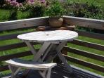 Front porch picnic table