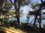 Beach in 'Marjan' park