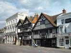 An example of some fine Georgian buildings in Farnham town centre