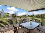 Outdoor elevated verandah