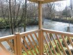 vue du camping sur la rivière l'Authie