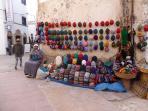 Marchand de bonnets marocains