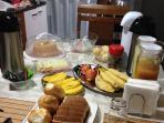Cafe da manhã colonial