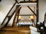 Double Bedroom with wonderful beams and loads of character