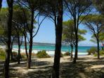Spiaggia di Sant'Anna. La più vicina.