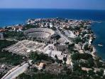 The  historical city of Side, 2500 years old