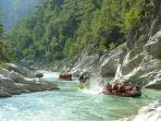 Rafting on the Dalaman River