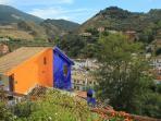 Panoramic views from Attic Monachil Granada