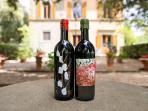 Our Chianti Classico wine bottles