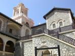 Troodos Mountains Monastery