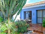 Beautiful Cactus Garden with Sophisticated Al Fresco Dining Terrace
