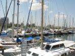 Marina in Larnaca