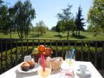 colazione in terrazza della camera N 7