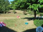 Le jardin exposé au soleil