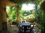 Summer dining terrace