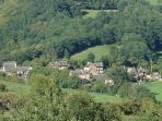 Le hameau de Saulieux au téléobjectif